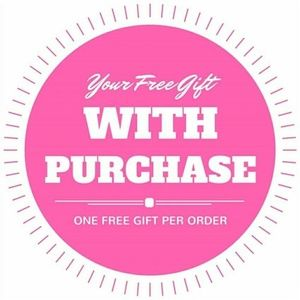 Free gifts with every purchase